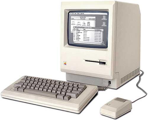 macintosh Pictorial Timeline of Apple Macintosh Computers, Gadgets and iPods in History