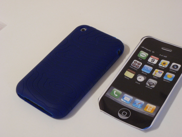 p9091075 Trendy Silicone Case for iPhone is very rubbery
