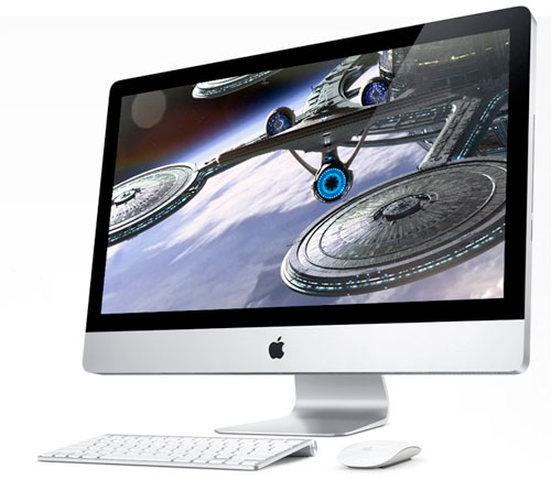 "2009 iMac with Cinematic Display 21.5"" and 27"" display with apple wireless mouse and keyboard"