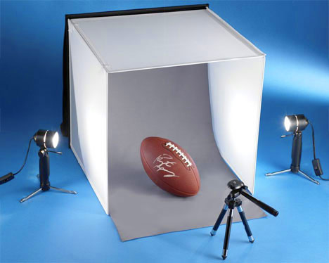 Tabletop Photo Studio Probably the best thing you could own if you sell on ebay, a tabletop photo studio