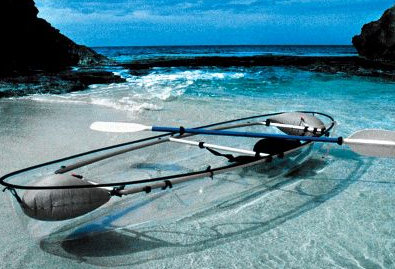 picture 11 The Transparent Canoe – Kayak puts the fear of drowning in any man