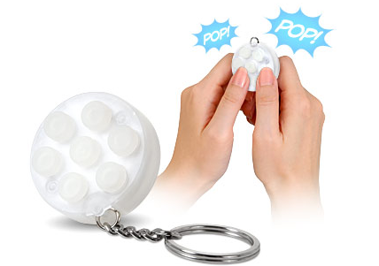 picture 16 Annoy your co workers with this wicked bubblewrap popping keychain