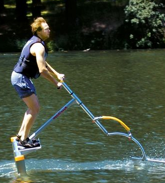 picture 21 Look like a total douche but get around quick with the Hydrofoil Water Scooter