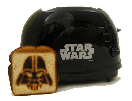 darth vader toaster The Dark Side of the Bread