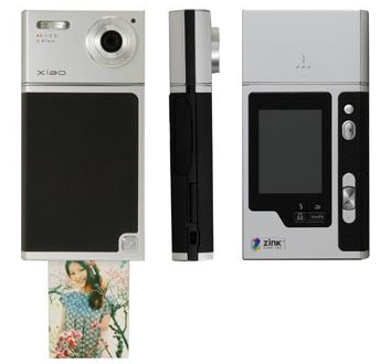 picture 11 Polaroids to go with the Polaroid PoGo. TOMY xiao™ TIP 521 Digital Camera with Built in ZINK Printer