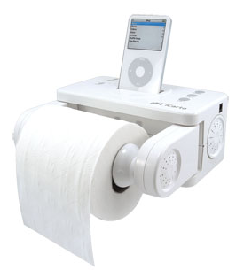 picture 31 Enjoy your iPod while sitting on the toilet