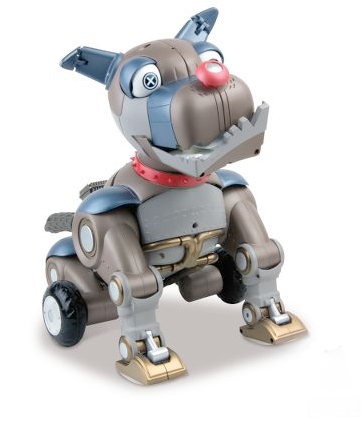 roboticdog Robotic Junkyard Dog made of scrap is more fun than playing with garbage