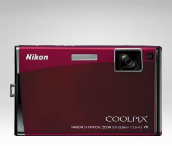 353 26134 s60 front1 The Coolpix Nikon S60 promotes girl on girl action with their new camera