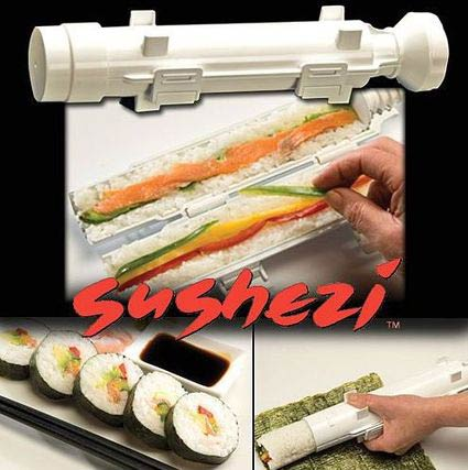 sushezi Now you can make your own sushi easy with Sushezi