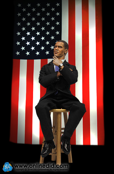 obama barack 5 The Obama action figure with interchangeable ties