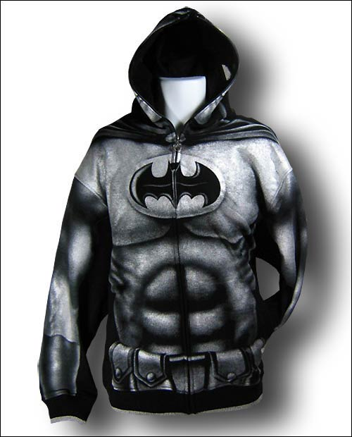 Superhero full zip-up hoodies at One More Gadget