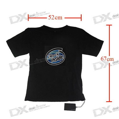 sku 20737 1 Sound activated LED t shirts