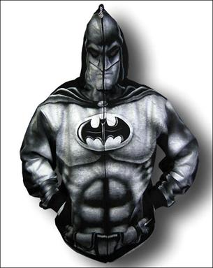 Superhero full zip-up hoodies | One More Gadget