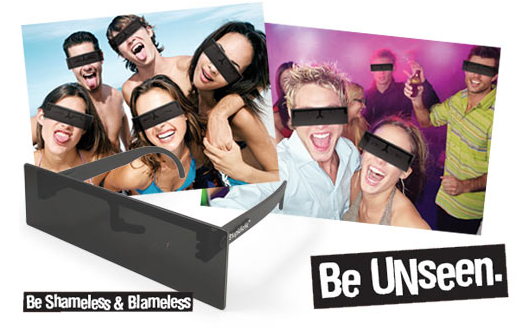 picture 11 Black Bar Censor Sunglasses for your summer photos