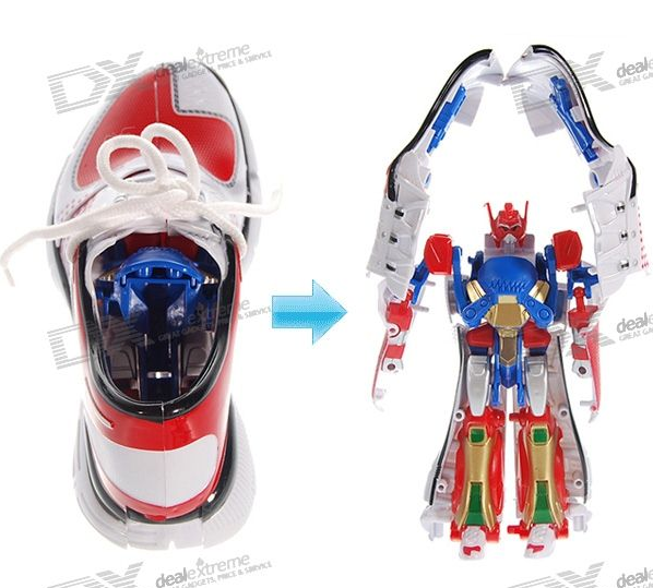 picture 3 Shoes that transform, into transformers