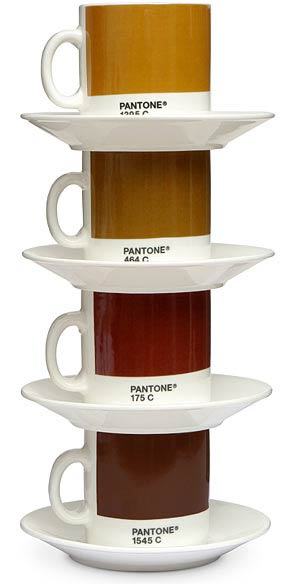 picture 31 Pantone Espresso Coffee Mugs are perfect for Designers and um yah, pretty sweet