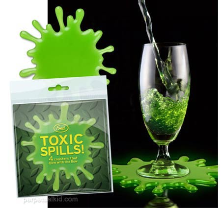 cstr 17694 Toxic Spills Coasters for those really strong drinks