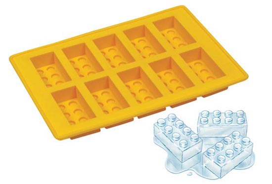 lego ice cube tray1 The Greatest List of The Coolest Ice Cubes around