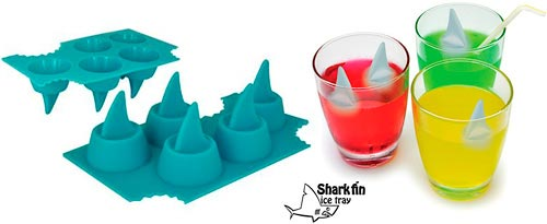 sharkfin icetray1 The Greatest List of The Coolest Ice Cubes around