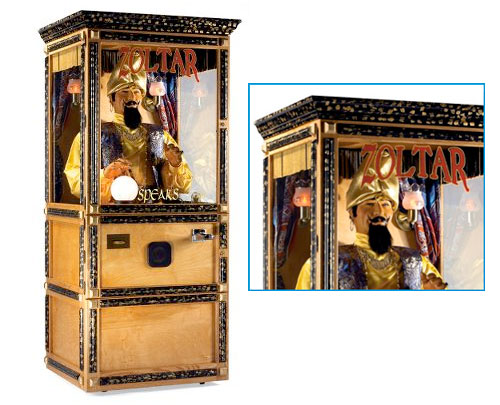 Zoltar From BIG The Coolest List of the Worlds Most Expensive Gadgets