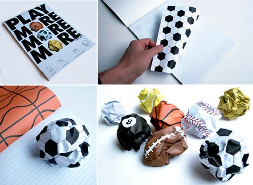 balled up balls thumb 550x401 20552 Play More: Ball Paper Garbage