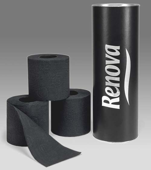 renovatpx Does this even make sense? Black toilet paper