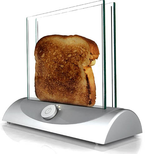 toaster1505 468x494 I can see the toast clearly now the toasters gone, its a clear toaster