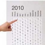 2010 bubble calendar 150x150 Learn something new every day with the On This Day Wall Calendar