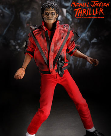 B6968 1 The best way to get hits is to create them with the Michael Jackson Thriller Action Figure