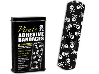 Pirate Bandages Band-Aids