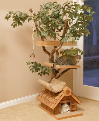 Feline Tree House The Greatest List of Must Have Pet Gadgets
