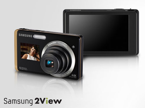 ST550gold  keyvisual Samsung 2View ST550 is worlds first Dual LCD digital camera