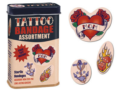 TATT 1757 The Most Excellent List of Bandages and Band aids