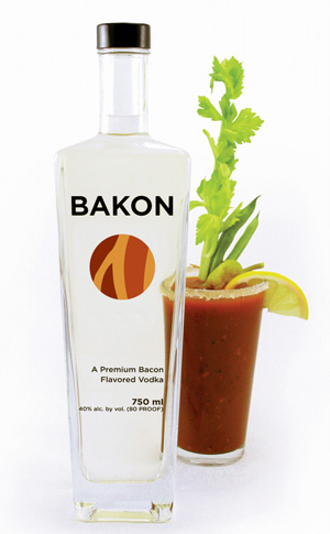 bacon vodka bakon The Greatest List of Everything Bacon