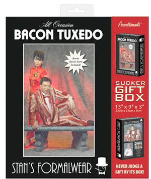 bacontuxedo The Greatest List of Everything Bacon