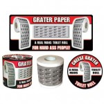 cheese grater toilet paper 150x150 Stay glued to your seat with a Crazy Glue Toilet Paper Dispenser