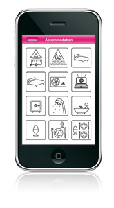 icoon iphone app ICOON Personal Picture Global Dictionary uses icons for everything