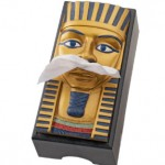 king tut tissue box cover 150x150 Blowing your nose has never felt so minty fresh with this Gum Tissue Box Cover