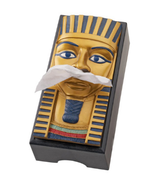 king tut tissue box cover A King Tut tissue box cover is great for when youre sneezing your brains out