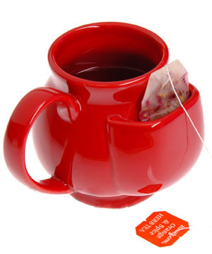 pouch mug red The Greatest List of the Hottest Coffee Mugs Around