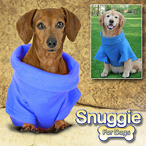 snuggie for dogs The Greatest List of Must Have Pet Gadgets