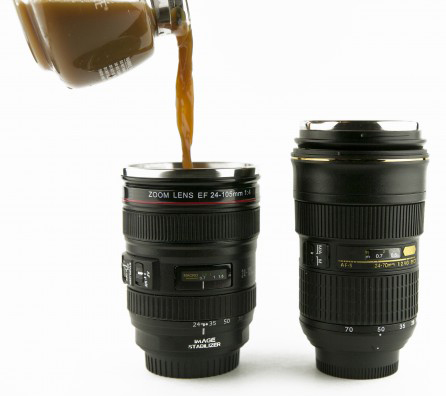 camera lens mug The Greatest List of the Hottest Coffee Mugs Around