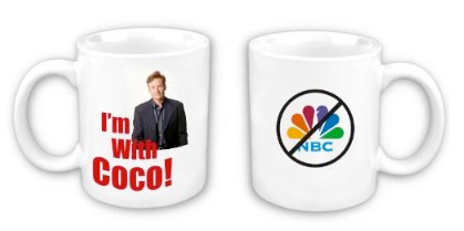 coco mug Im with Coco. The Conan OBrien Movement