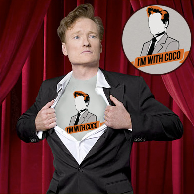 conan obrien coco t shirt Im with Coco. The Conan OBrien Movement