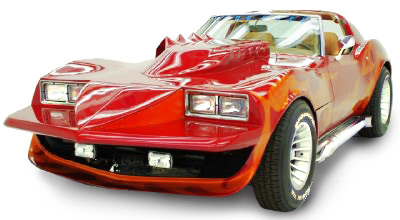 corvette summer car Famous Cars from TV and the Movies