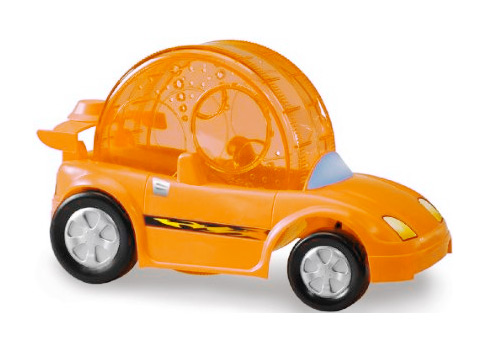 hamster exercize cruiser Its kind of like a Flinstones car for Hamsters, its a Super Pet Critter Cruiser