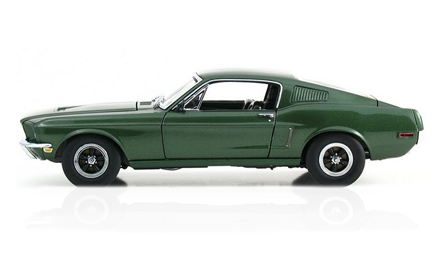 1968 ford mustang bullit steve mcqueen Famous Cars from TV and the Movies