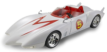 mach 5 speed racer Famous Cars from TV and the Movies