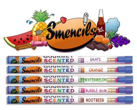 smencils What do you get when you combine smells and pencils? Smencils of course!