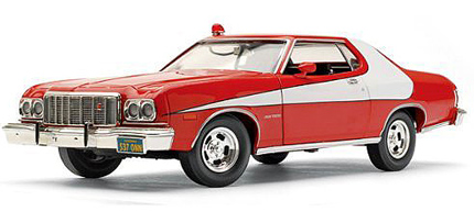 starsky and hutch 1974 gran turino Famous Cars from TV and the Movies